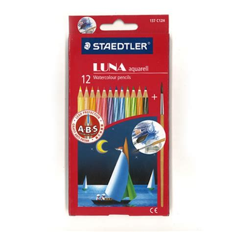 Pensil Warna Junior 12 Warna Panjang jual pensil warna staedtler aquarel 12 warna panjang