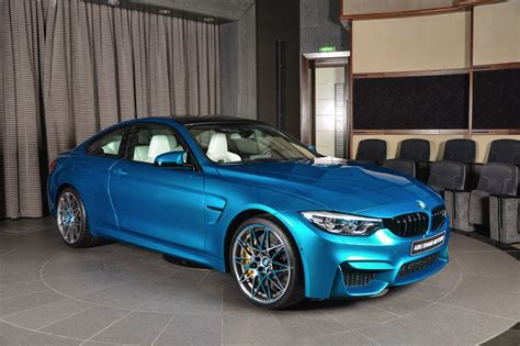 Bmw Individual Sticker by Individual Atlantis Blue Bmw M4 Competition Package Is A