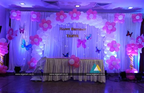 Birthday Decorations by Birthday Balloon Decoration Hotel Green Palace Pondicherry 171 Wedding Decorators In