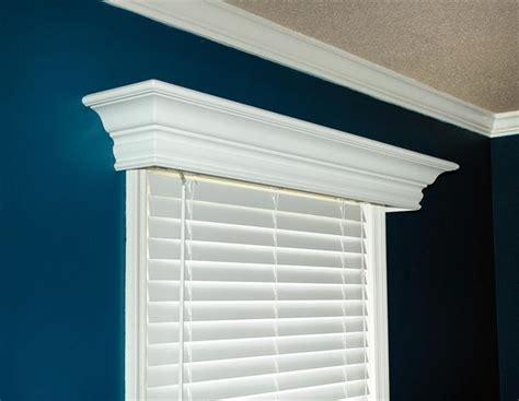 Wood Valances For Windows Decor Ashton Custom Wood Cornice Up Window And To The Wall