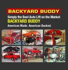 Backyard Buddy Auto Lift by Backyard Buddy 7 000 Lb Standard Four Post Lifts 63