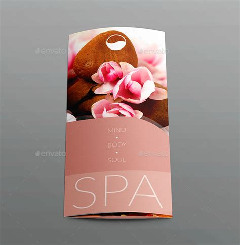 tri fold business card template tri fold brochure business card templates spa by