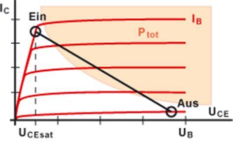 bipolar transistor widerstand transistor als schalter