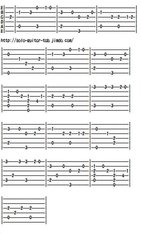 La Dispute A Letter Guitar Tab Greensleeves Classical Traditional For Guitars