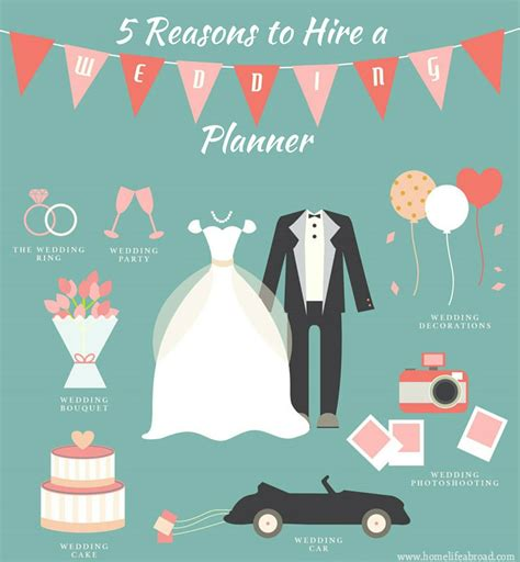 5 Reasons To In Your Wedding by 5 Reasons To Hire A Wedding Planner Home Abroad