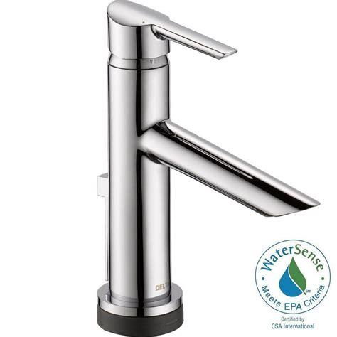 delta single hole 1 handle chrome specialty bathroom sink delta compel single hole single handle bathroom faucet