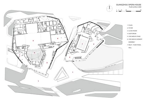 opera house floor plan gallery of guangzhou opera house zaha hadid architects 17