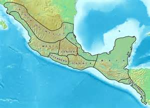 atlas blank map of mesoamerica and south america