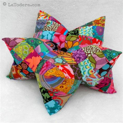 Patchwork Pincushion Pattern - pillow and pincushion pattern tutorial patchwork by