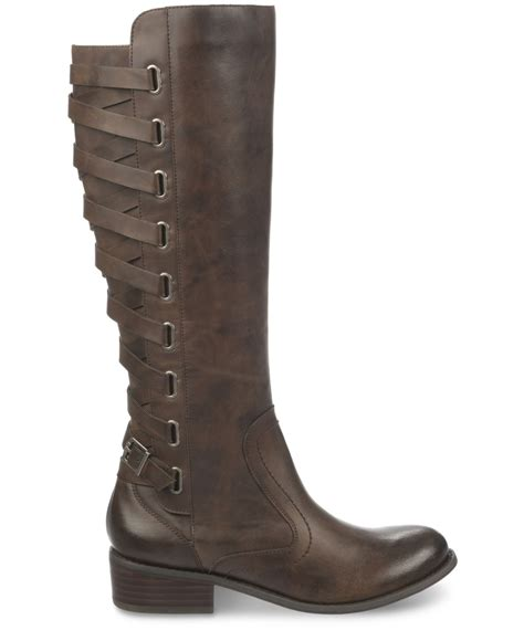 carlos by carlos santana lorenza boots in brown lyst