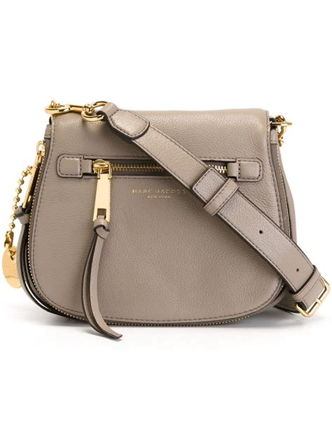 Marc Jacob Bag 32 marc recruit small crossbody bag in brown save 11 lyst