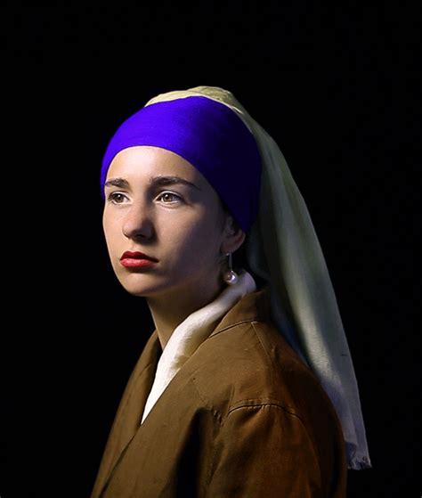 una recreaci 243 n de la joven de la perla gana el concurso adobe de cinemagraphs fotografo