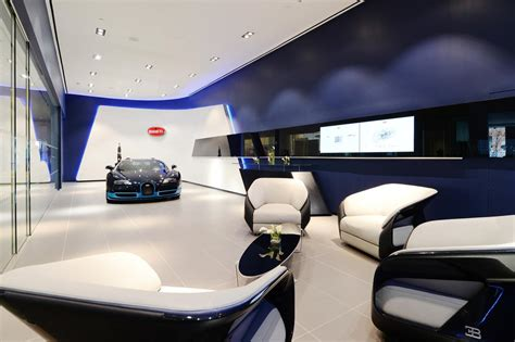 bugatti showroom bugatti unveils redesigned showrooms in new york and miami