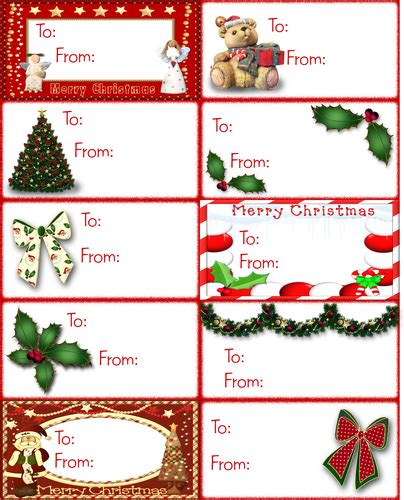 printable gift tags from father christmas index of images free