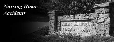 nursing home accidents phillips morrison ferrell
