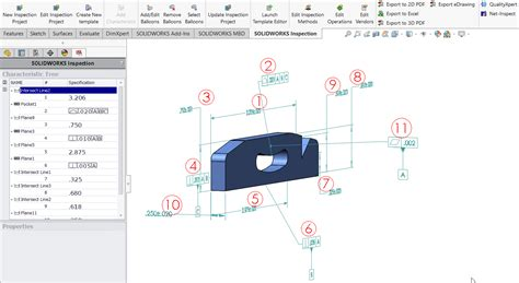 tutorial solidworks mbd solidworks inspection tech tips tutorials by certified