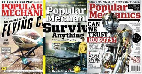 Popular Mechanics Giveaways - rare free subscription to popular mechanics magazine