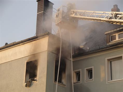 rehau wohnung 17 brand wohnung freiwillige feuerwehr selb