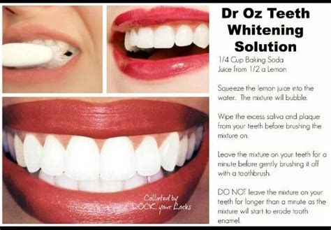 dr oz on pinterest 79 pins dr oz teeth whitening solution diy health beauty