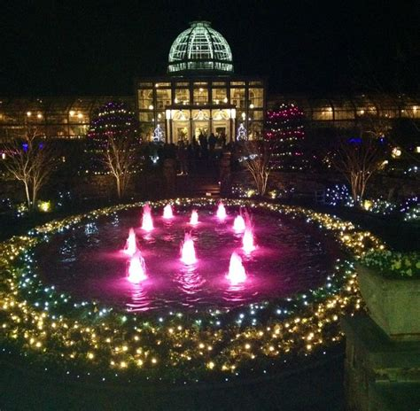 lewis ginter gardens festival of lights oh the places
