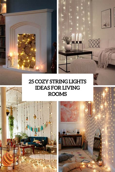 string lights for living room living room designs archives digsdigs