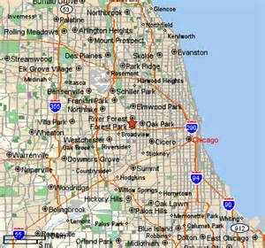 Chicago Metro Area Map by Map Of Chicago Area Submited Images