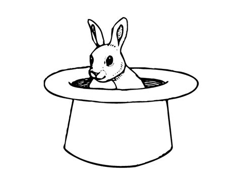 hat coloring page coloring home