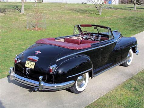 Chrysler Convertible For Sale by 1948 Chrysler For Sale 1834144 Hemmings Motor News