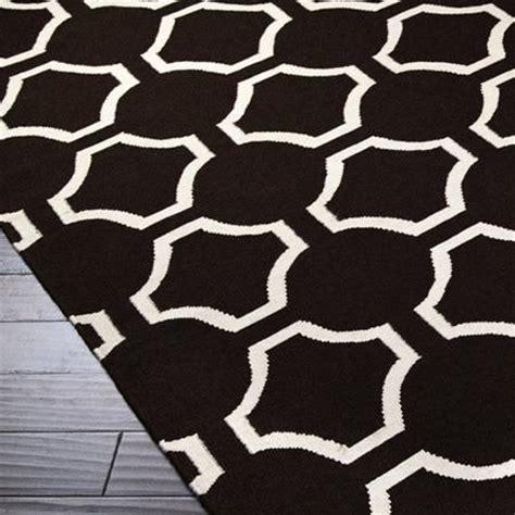 black and white accent rugs jill rosenwald studio links black
