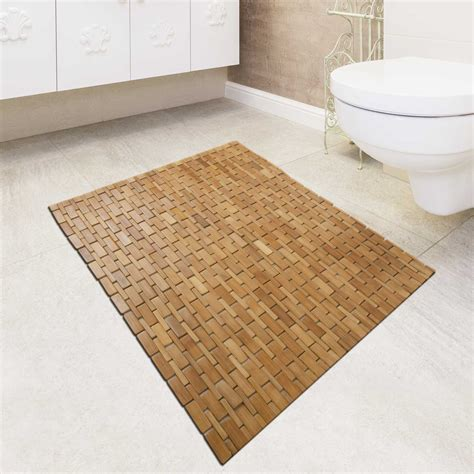 Bamboo Bath Rugs Rugs Ideas Bamboo Bathroom Rug