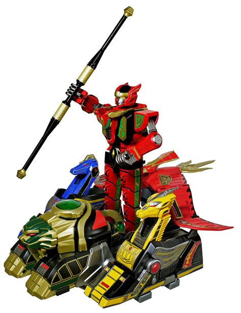 Legacy Megazord new images of mighty morphin power rangers legacy thunder