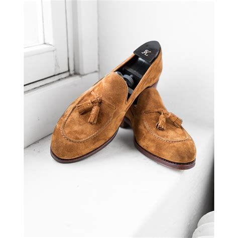 light brown shoe tassel loafer light brown suede