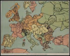 Map Of Europe In Ww1 by Nationalism In Europe Ww1 Starting Wwi Is Portrayed