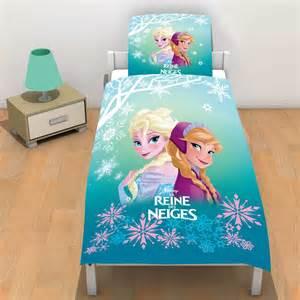 parure de lit la reine des neiges r 233 versible linge de