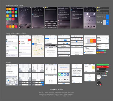 ios design templates free 10 free ui templates for android lollipop and ios 8