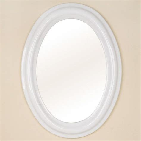 white oval bathroom mirror 17 best ideas about oval bathroom mirror on pinterest