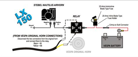 modern vespa tutorial installing a stebel airhorn on a gtv