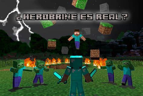 imagenes reales de minecraft minecraft herobrine es real danos tu opini 243 n al ver