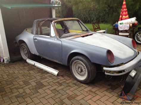 Porsche For Restoration For Sale by Porsche 911 Targa Restoration Project