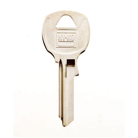 hy ko blank national cabinet lock key 11010na12 the home
