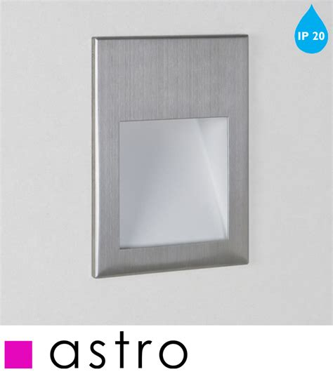 Borgol Jari Stainless Hight Quality astro borgo 90 led ip20 2700k recessed wall light