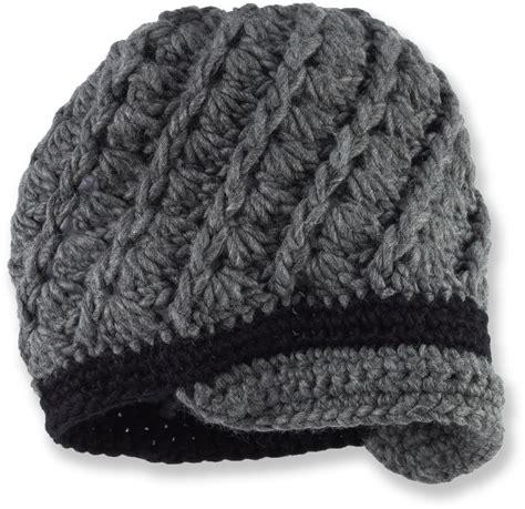 free pattern crochet s swirly brimmed hat
