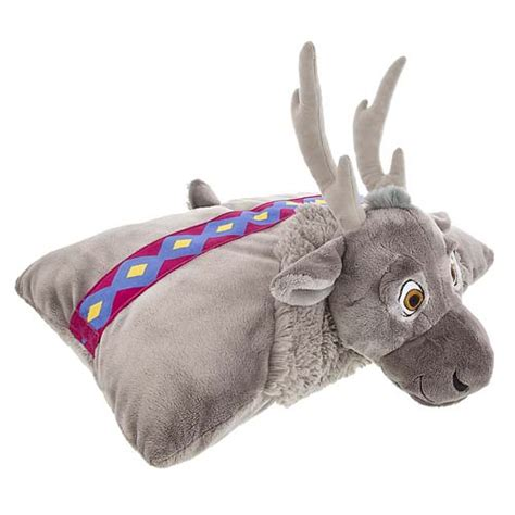 disney frozen toddler plush cushion bed rest pillow brand your wdw store disney plush frozen sven plush pillow