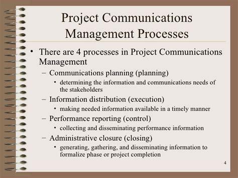 design management and communication project management communication