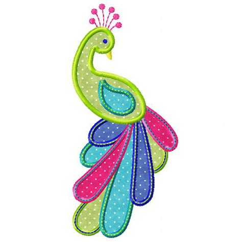 peacock applique peacock applique