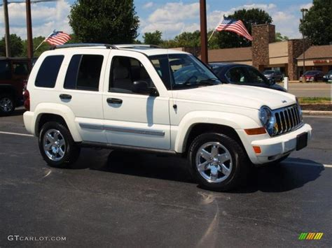 jeep white liberty 2007 white jeep liberty limited 4x4 69214352 photo