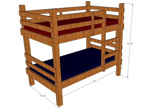 Toddler Bunk Bed Plans Stunning Toddler Bunk Beds Ideas To Add Some Style And To Create More Play Space For Your