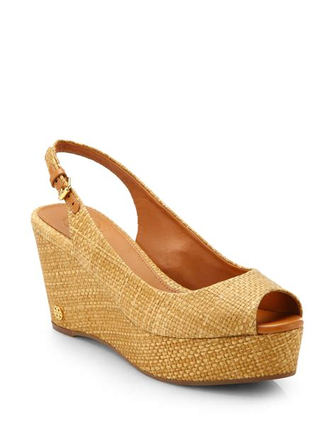 raffia sandals burch rosalind woven raffia wedge sandals in beige