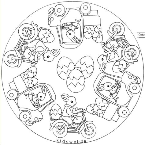 easter mandala with birds and eggs coloring page free crafts actvities and worksheets for preschool toddler and