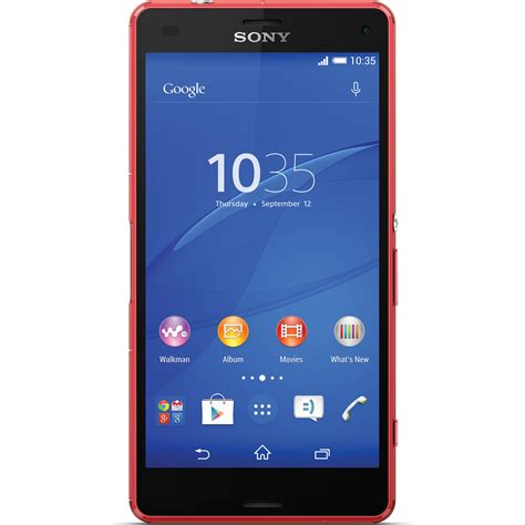 Hp Sony Xperia Z3 Compact D5803 sony xperia z3 compact d5803 16gb smartphone 1290 0542 b h
